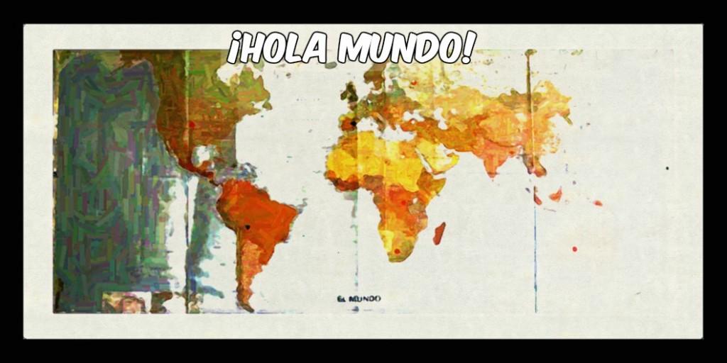 ¡Colores Prohibidos dice hola al mundo!